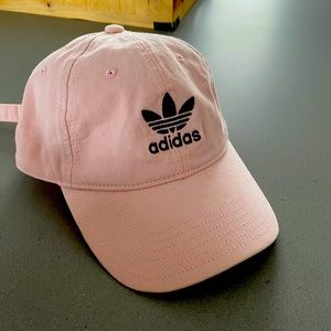 Like new pink Adidas ball cap